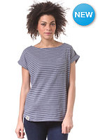 WEMOTO Womens Bell S/S T-Shirt blue/white ms