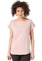 WEMOTO Womens Bell S/S T-Shirt burlwood melange
