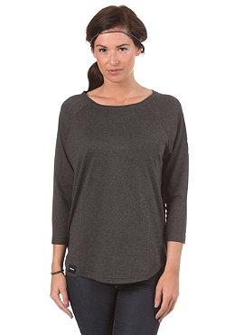 WEMOTO Womens Shane L/S T-Shirt black melange