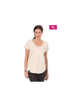 WEMOTO Womens Yasmin T-Shirt eggshell melange