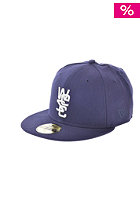 WESC 59Fifty Fitted Cap blue depths
