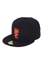 WESC 59FIFTY Overlay Wool Cap dark sapphire