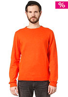 WESC Anwar Knit Sweat tangerine tan