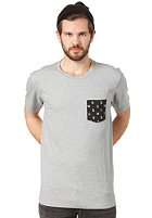 WESC AOP Pocket S/S T-Shirt grey melange