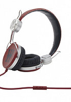 WESC Banjar Franchise Dub Headphones jester red