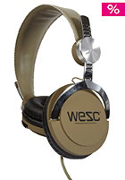 WESC Bass DJ Headphones 2012 ivy green