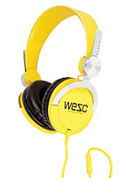 WESC Bass Headphones dandelion yellow