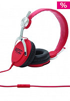 WESC Bass Headphones true red