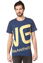 WESC Blown Up Logo S/S T-Shirt estate blue