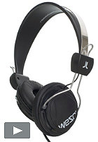 WESC Bongo Hands Free Headphones black