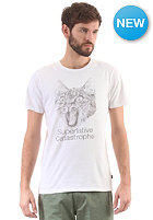 WESC Cat-astrophe S/S T-Shirt white