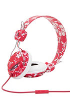 WESC Conga Hawaiwe Headphones jester red