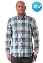 WESC Darcy L/S Shirt blue steel