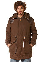 WESC Elder Coat dark chocolate