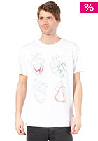 WESC Four Hearts S/S T-Shirt white