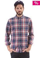 WESC Franky L/S Shirt blue depths