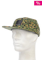 WESC Gravel 5 Panel Cap garden green