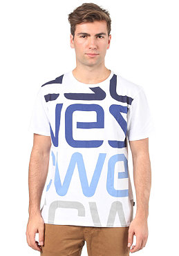 WESC Logo Biggest S/S T-Shirt white