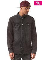WESC Maccoy Denim L/S Shirt cloudy grey