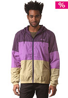 WESC Magnus Hooded Windbreaker blackberry