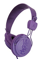 WESC Matte Conga Headphone purple passion