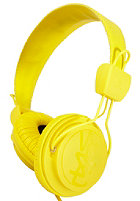 WESC Matte Conga Premium Headphones dandellion yellow