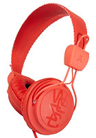 WESC Matte Conga Premium Headphones hot orange