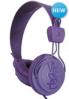 WESC Matte Conga Premium Headphones purple passion