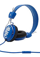 WESC Matte Conga Street Headphones royal blue