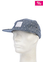 WESC Medaillion Abstract 5 Panel Cap blue depths