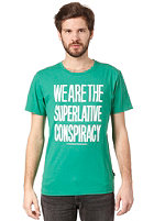 WESC Message S/S T-Shirt chlorophyll