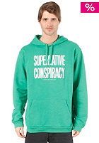 WESC Message SC Hooded Sweat chlorophyll