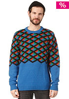 WESC Miro Knit Sweat imperial blue