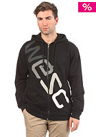 WESC Multi Colour Logo Hooded Zip Sweat black