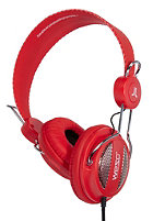 WESC Oboe NS Headphones hot orange