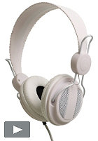 WESC Oboe NS Headphones solid white