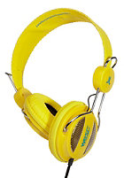 WESC Oboe NS Headphones vibrant yellow