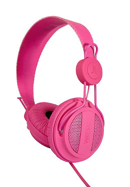 WESC Oboe Solid Headphones magenta