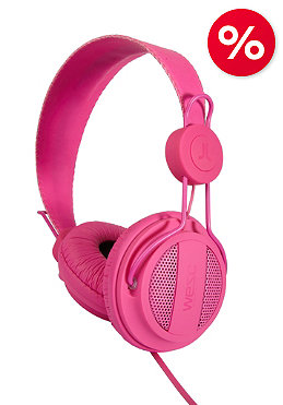 WESC Oboe Solid Seasonal Headphones magenta