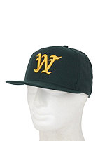 WESC On Field W1 Snapback Cap moss green