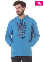 WESC Overlay Hooded Sweat horizon blue