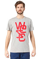 WESC Overlay S/S T-Shirt grey melange
