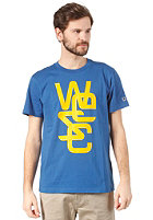 WESC Overlay S/S T-Shirt true blue