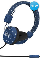 WESC Piston Abstract Medallion Headphones estate blue