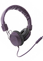 WESC Piston Headphones burgundy