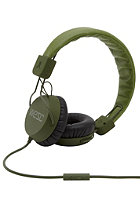 WESC Piston Headphones loden /