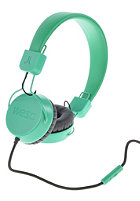 WESC Piston Street Headphones blarney green