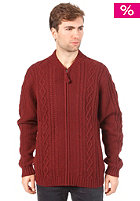 WESC Quest Knit Sweat andorra red