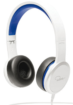 WESC RZA Street Headphones white/blue