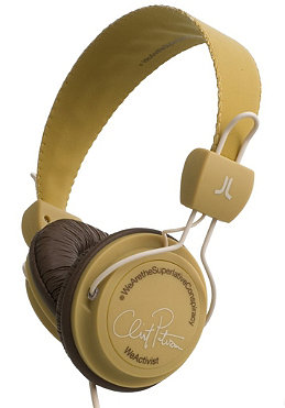 WESC WeActivist Clint Pet Headphones clint peterson